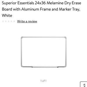 NEW! Superior Essentials White Board office